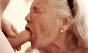 Granny likes sucking unearth
