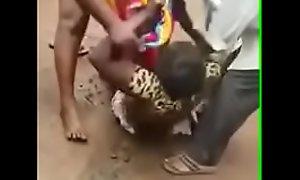 Uganda Market Brawl