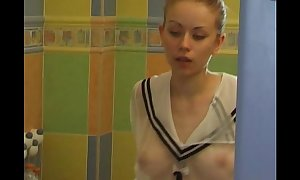 Take a shower legal age teenager solitary