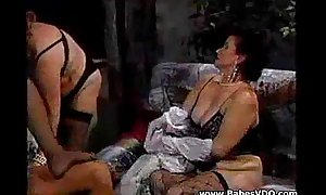 Derriere fuck 3 pile up - (foursome)