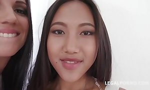 Jolee adulate & may thai crap impenetrable depths anal, dap, atogm