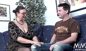 Mmv films doff expel a broad in the beam milf