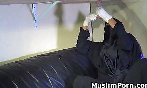 Muslim Allstars#1  Niqab Milking Table- Muslim Teen Creampie- Muslim Teen Blowjob- MuslimPornxxx porn video