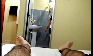 melayu hairy foreigner fucks malay milf