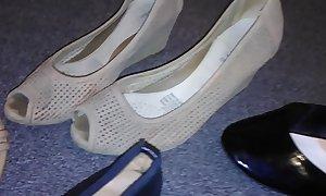Stolen heels flats wedges off my sexy asian neighbour (Veronica)