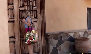 Innocent maid kinky by lesbo milf - lesbiancum xxx video