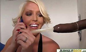 Cheating white women alura jenson takes anonymous dark cock