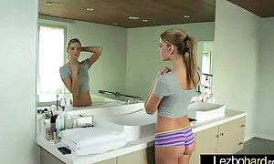 Teen lesbian babes (riley reid & kenna james) play untill climax on livecam tube video 29