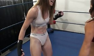 Belly Punching Contest Catfight