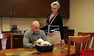 Ryan conner breasty milf in office