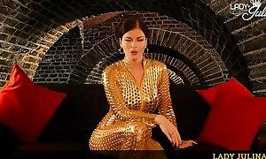 Domina Lady Julina Regeln der Unterwerfung für den treuen Sklaven