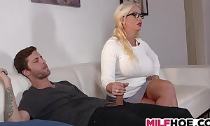 Stepdaughters boyfriend tempted by mommy