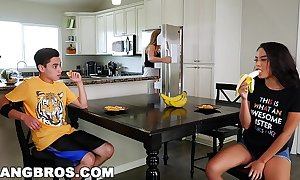 Bangbros - dark step sister maya bijou copulates brother juan el caballo loco