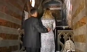 Dina jewel drilled by a obscene priest