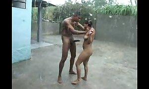 Village rain sexy sex full