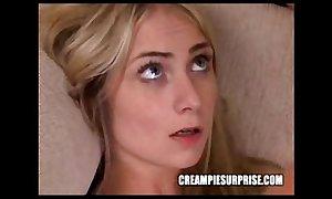 Creampie surprise compilation part three