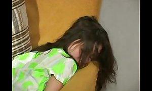 Guy impregnates sleeping whore