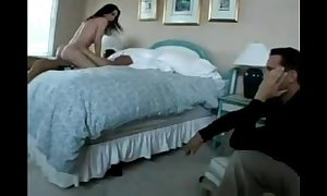 Husband catches white doxy and watches her acquire screwed