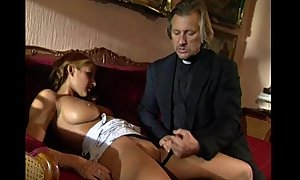 Young blond lolita punished and screwed by perv...
