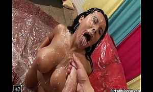 Messy monster rod facual cumshots remix