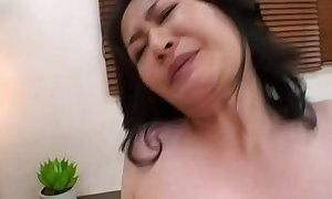 Asian milfs in trio riding strapon and can not acquire en...