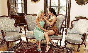 Divan delights by sapphic erotica - lesbian lov...