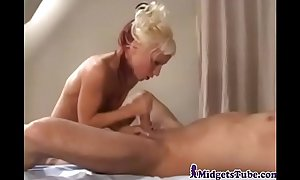 Most gorgeous midget in the world drilled