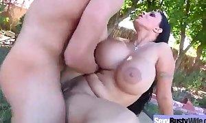 Big milk shakes in hard sex