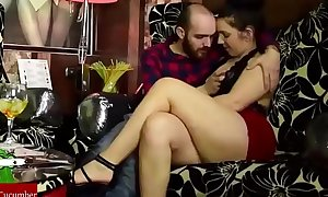 Sex in a cocktail bar with two couples. homemade dilettante spycam with my gf raf102