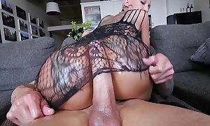 Bangbros - a short-haired bella bellz acquires anal for her large arse
