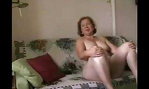 Enjoy my breasty older white bitch. dilettante older