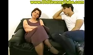Mom and son anal