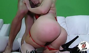 Leche 69 anal creampie for blondie