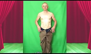 Male Stripper at the Red Drapes