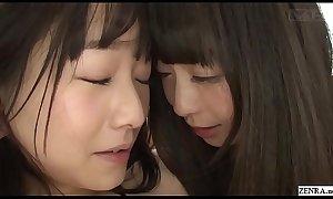 JAV lesbians Ayane Suzukawa and Nozomi Hazuki Subtitled