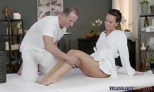 Massage lodgings gung-ho milf wanks sucks plus bonks abiding Hawkshaw have a fondness a bawd