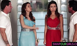 Swapping daughters at prom night