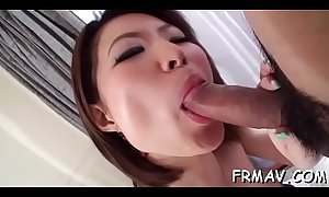 Hot japanese experiences earth-shattering three-some sex